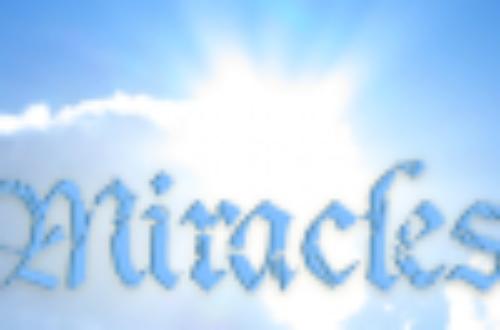 Article : Le miracle n'a pas eu lieu.