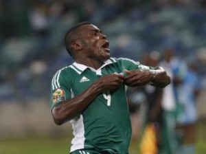 Le Nigérian Emmanuel Emenike, REUTERS/Mike Hutchings