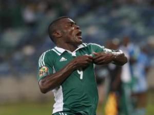 Le Nigérian Emmanuel Emenike, REUTERS/Mike Hutchings