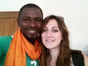 Avec Raphaelle. Crédit-behem