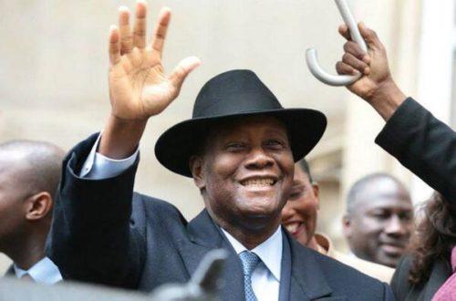 Article : Le président Ouattara de retour à Abidjan ce week-end